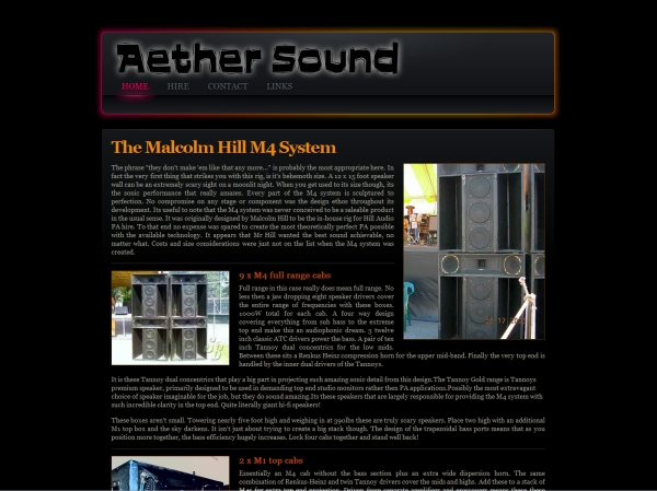 Aether Sound