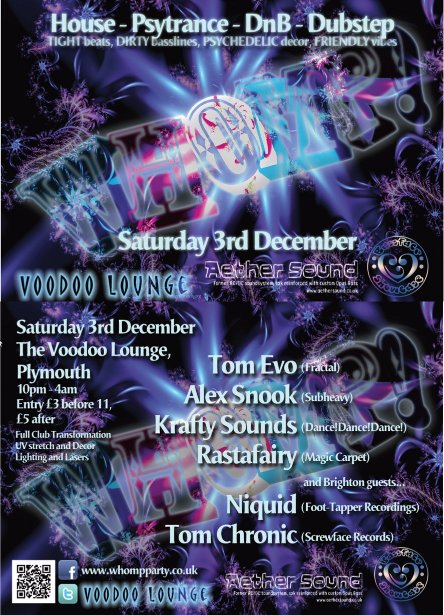 Whomp Flyer December 2011